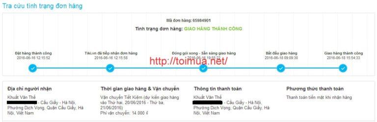 6 lưu ý cần biết trước khi mua hàng trên Tiki.vn