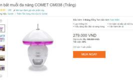 Nên mua loại đèn bắt muỗi loại nào tốt nhất hiện nay?