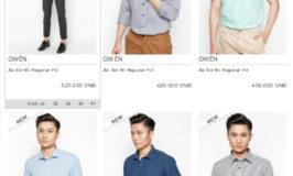 Mua quần áo thời trang Owen chính hãng online nhiều khuyến mãi