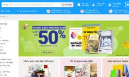 Top 10 website mua bán sách online hàng đầu Việt Nam
