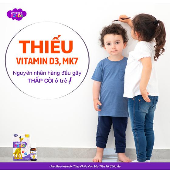 bổ sung vitamin d3 cho trẻ